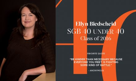 Ellyn Biedscheid, SGB 40 Under 40 Class of 2016