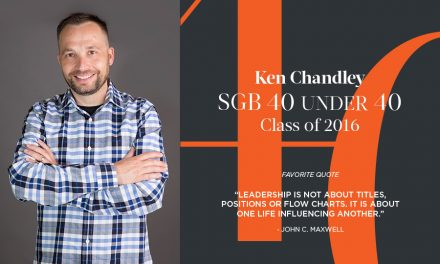 Ken Chandley, SGB 40 Under 40 Class of 2016