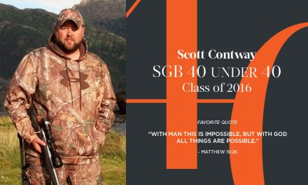 Scott Contway, SGB 40 Under 40 Class of 2016