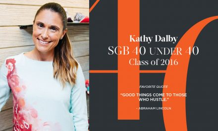 Kathy Dalby, SGB 40 Under 40 Class of 2016