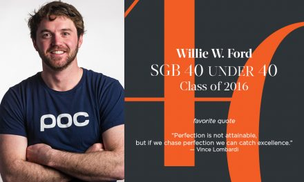 Willie W. Ford, SGB 40 Under 40 Class of 2016