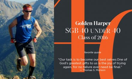 Golden Harper, SGB 40 Under 40 Class of 2016