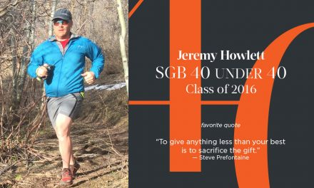 Jeremy Howlett, SGB 40 Under 40 Class of 2016