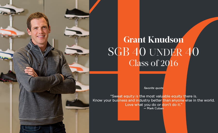 Grant Knudson, SGB 40 Under 40 Class of 2016
