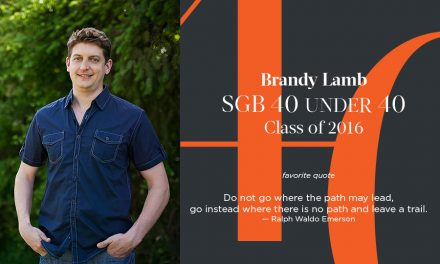 Brandy Lamb, SGB 40 Under 40 Class of 2016