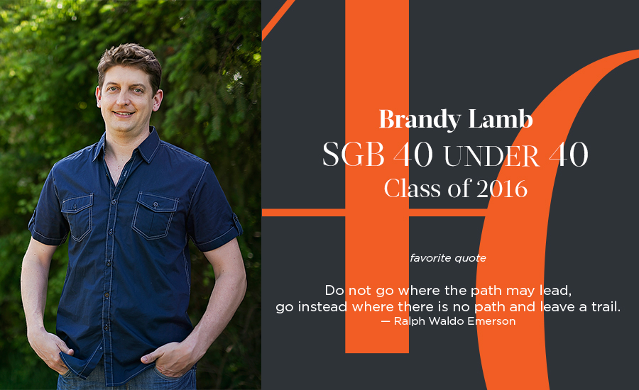 Brandy Lamb, SGB 40 Under 40 Class of 2016
