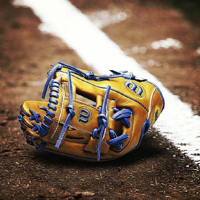 Wilson's A2K DP15 GM Middle Infield Glove Photo courtesy Wilson