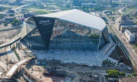 NFL Vikings' Stadium Completed Six Weeks Early