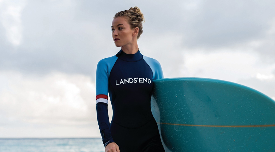 Lands' End Gets Sporty, Enters Activewear Pool