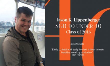 Jason K. Lippenberger, SGB 40 Under 40 Class of 2016