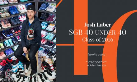 Josh Luber, SGB 40 Under 40 Class of 2016