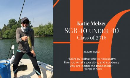 Katie Melzer, SGB 40 Under 40 Class of 2016