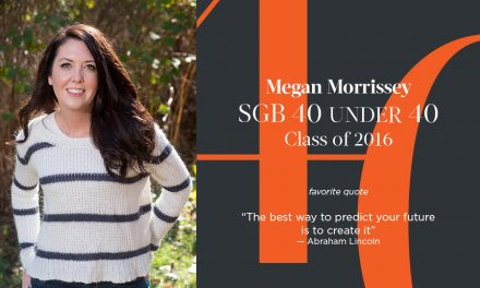 Megan Morrissey, SGB 40 Under 40 Class of 2016