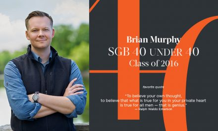 Brian Murphy, SGB 40 Under 40 Class of 2016