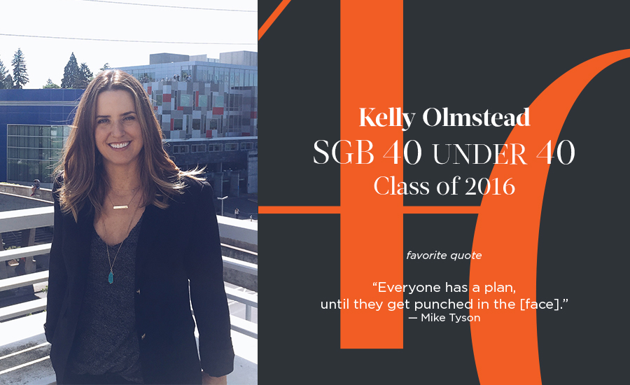 Kelly Olmstead, SGB 40 Under 40 Class of 2016