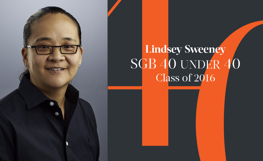 Lindsey Sweeney, SGB 40 Under 40 Class of 2016