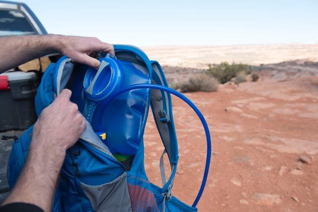 CamelBak redesigned 100-ounce Crux reservoir Photo courtesy CamelBak