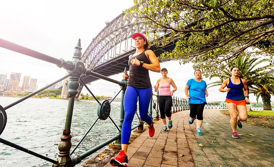 Women's Destination Races Fly, Share, Run