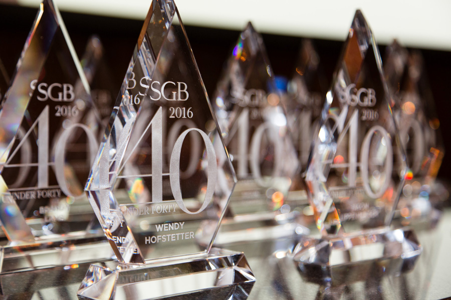 SGB 40 Under 40 2016: Who Took Home the Crystal?