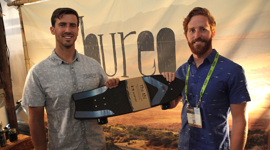 Bureo Co-founders David Stover and Kevin Ahearn.