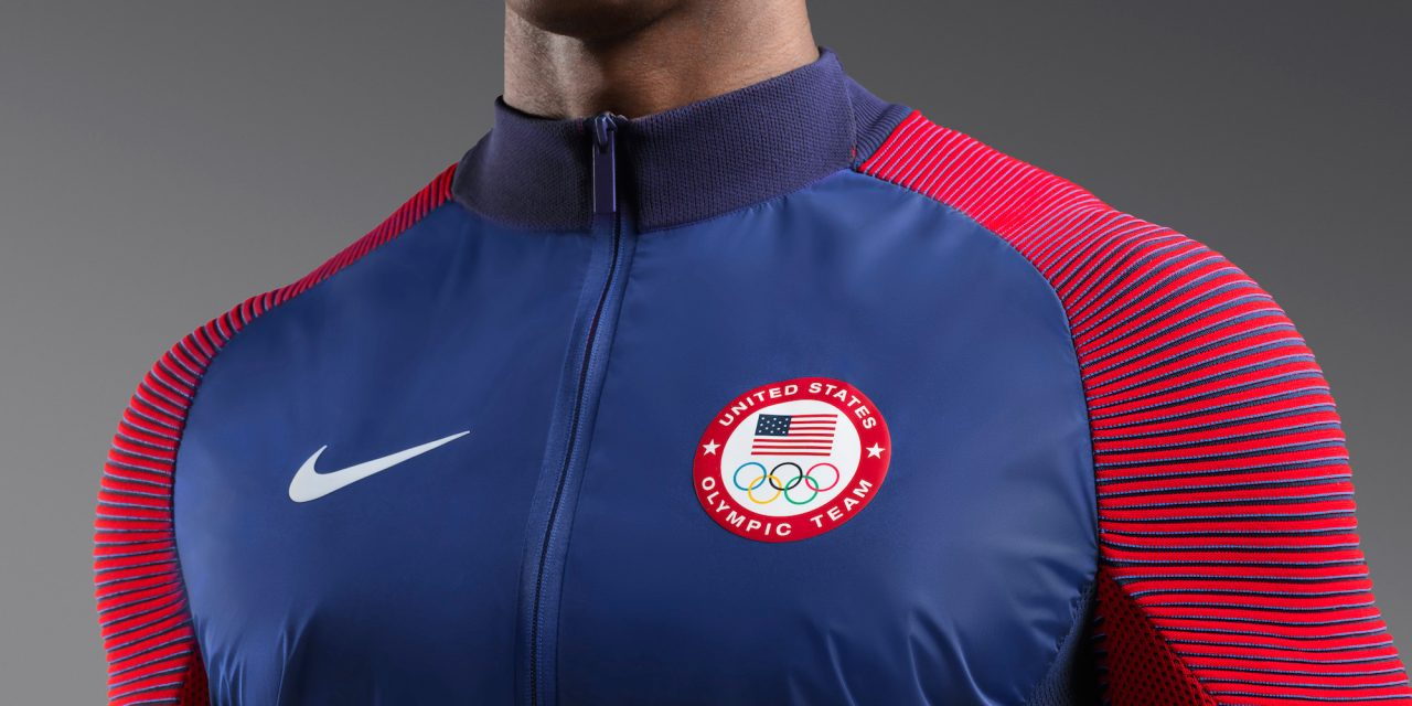 new product 9bbf8 0897c Trend Spotting at Rio 2016  Nike s Olympic Jacket and Under Armour s  1,200  Leotard