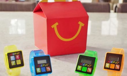 Fitness Trackers in Happy Meals?