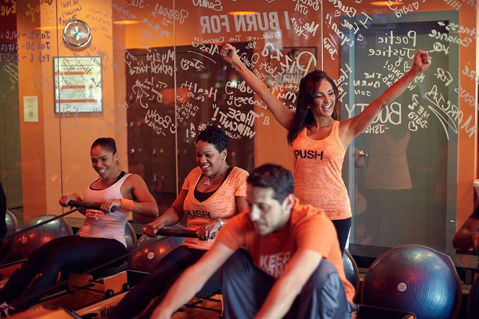 Photo courtesy Orange Theory Fitness
