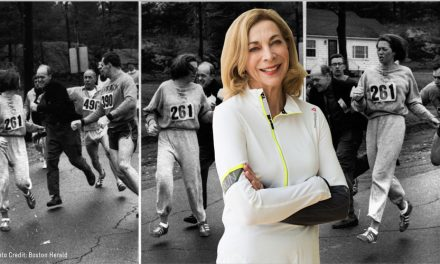 First Woman To Run Boston Returns For 50th Anniversary