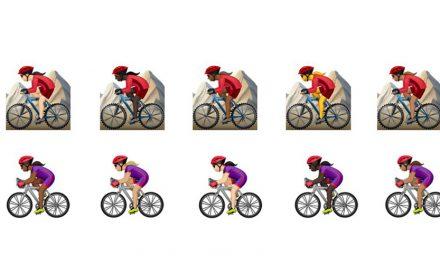 Apple Adds Women's Cycling Emojis