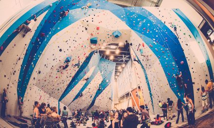 Indoor Climbers Take Plastic For Granite