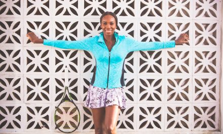 Venus Williams Takes On Athleisure With Casablanca