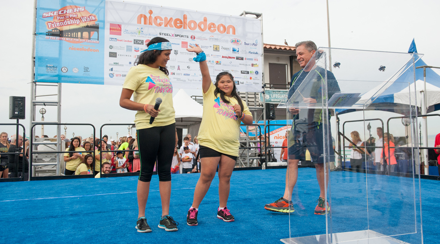 Skechers Aims For $1.5 Million At Pier To Pier Friendship Walk