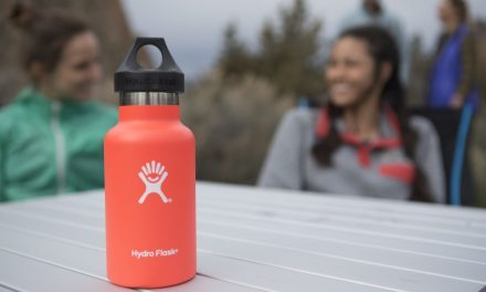 Hydro Flask Props Up Parent