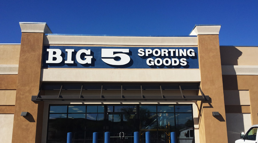 Big 5 Sporting Goods Banner