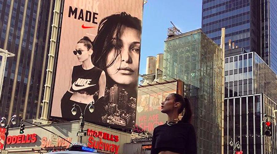 Nike Signs Supermodel Bella Hadid