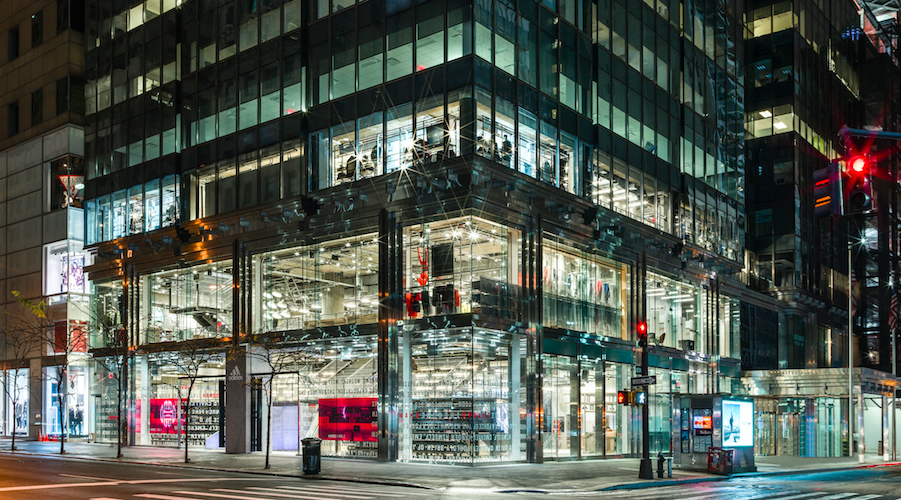 Adidas Opens Largest Store In NYC