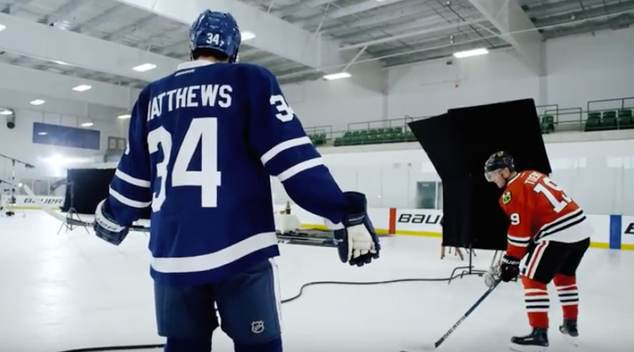Bauer Hockey's New Campaign Pits Captain Against Rookie