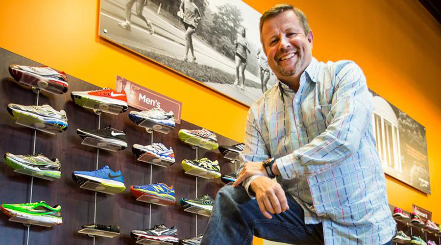 Jeff Phillips Out At Fleet Feet Sports