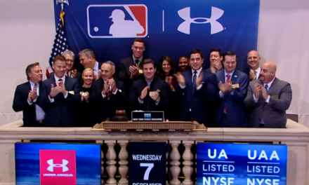 Under Armour CEO Rings NYSE Opening Bell After MLB Announcement