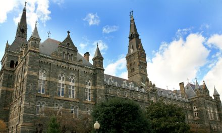 Georgetown Students Protesting Nike