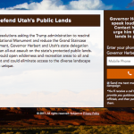 Patagonia Launches 'Defend Utah's Public Lands' Campaign