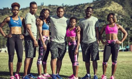 Puma Signs Seven New Jamaica Athletes