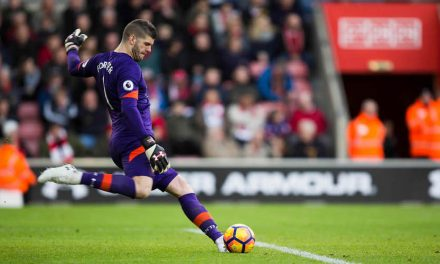Under Armour Signs Southampton Goalkeeper
