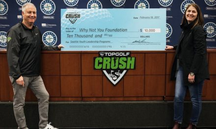 Topgolf Donates $10,000 To Russell Wilson's Charity
