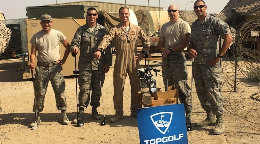 Topgolf Partners With Bunkers In Baghdad
