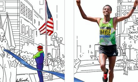 2017 Boston Marathon Street Banners Unveiled