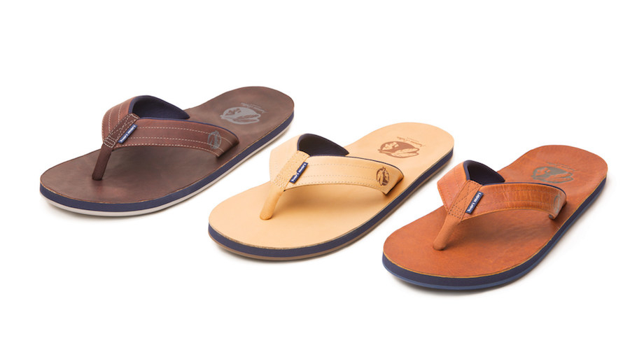 Hari Mari Launches Baseball-Themed Flip Flops