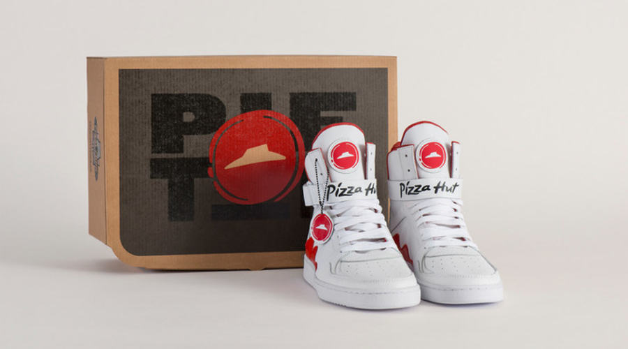Pizza Hut Basketball Shoes Can Order Pizza
