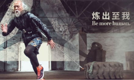 Reebok Signs China's Hottest Grandpa