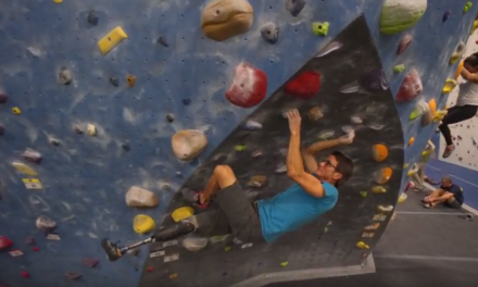 The North Face Sponsors Adaptive Climbing Initiative